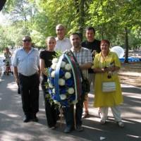 Поднасяне на венец от ДСБ София по повод годишнина от Илинденско-преображенското въстание