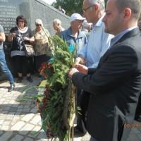 Поклон пред жертвите на комунизма