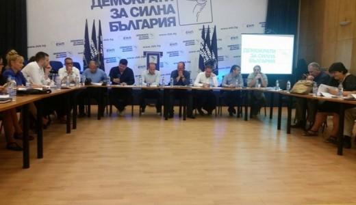 Изпълнителeн съвет на Демократи за силна България